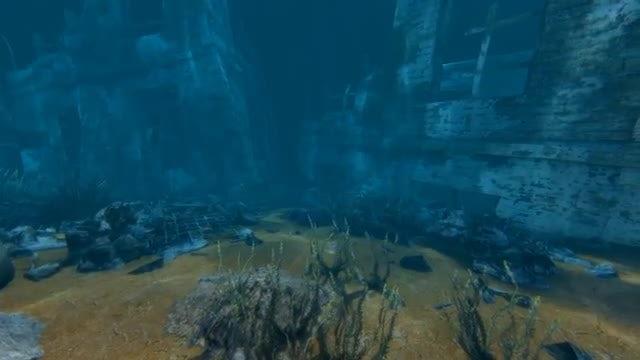 Underwater City: Stock Motion Graphics