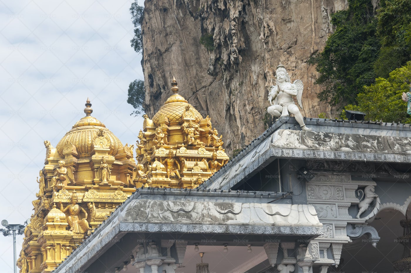 Sri Subramaniam Hindu Temple: Stock Photos