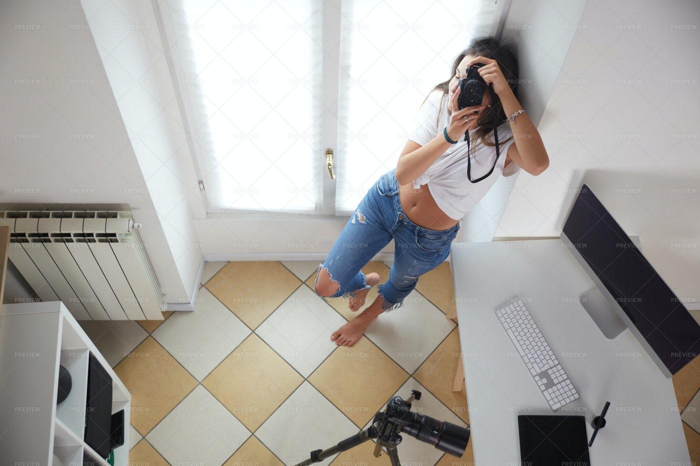 Young Photographer: Stock Photos