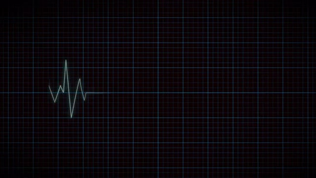 Heart Beat Monitor: Stock Motion Graphics