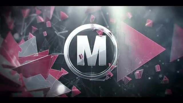 3D Abstract Style Logo: After Effects Templates