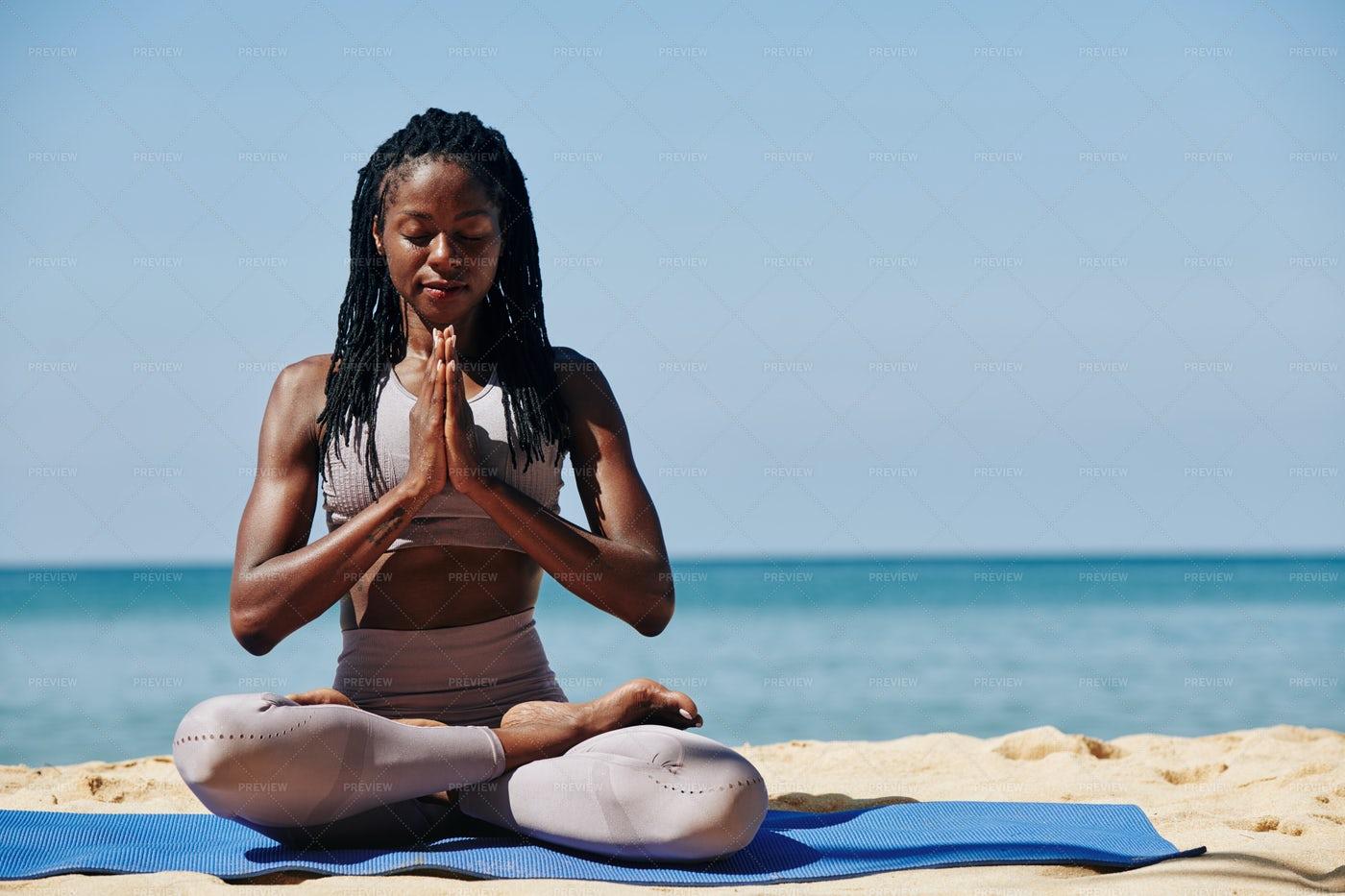 Relaxing Meditation: Stock Photos