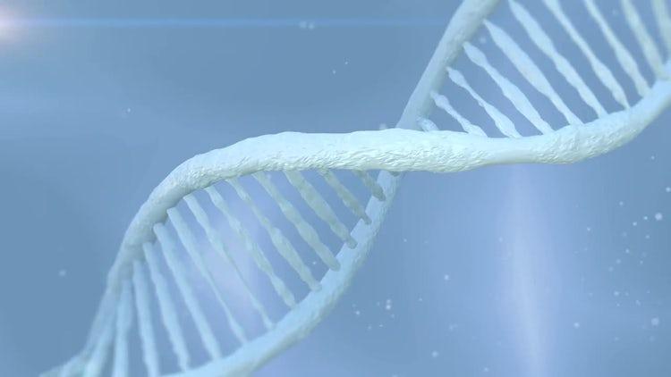 Rotating DNA: Motion Graphics