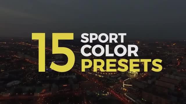 Sport Color Presets: Premiere Pro Presets