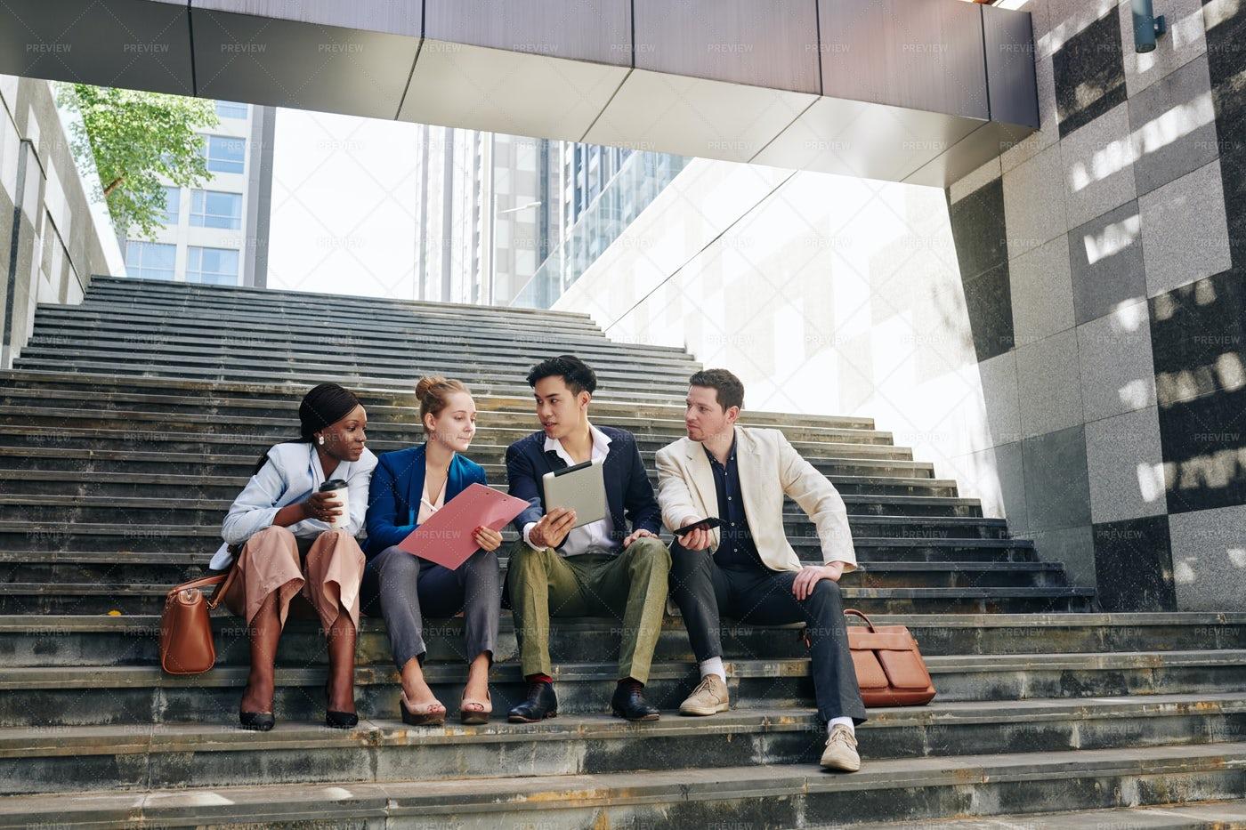 Group Of Young Entrepreneur: Stock Photos