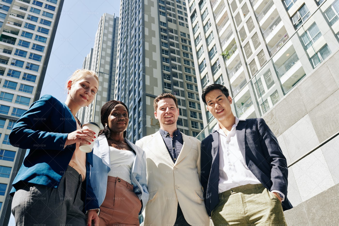 Young Business People: Stock Photos