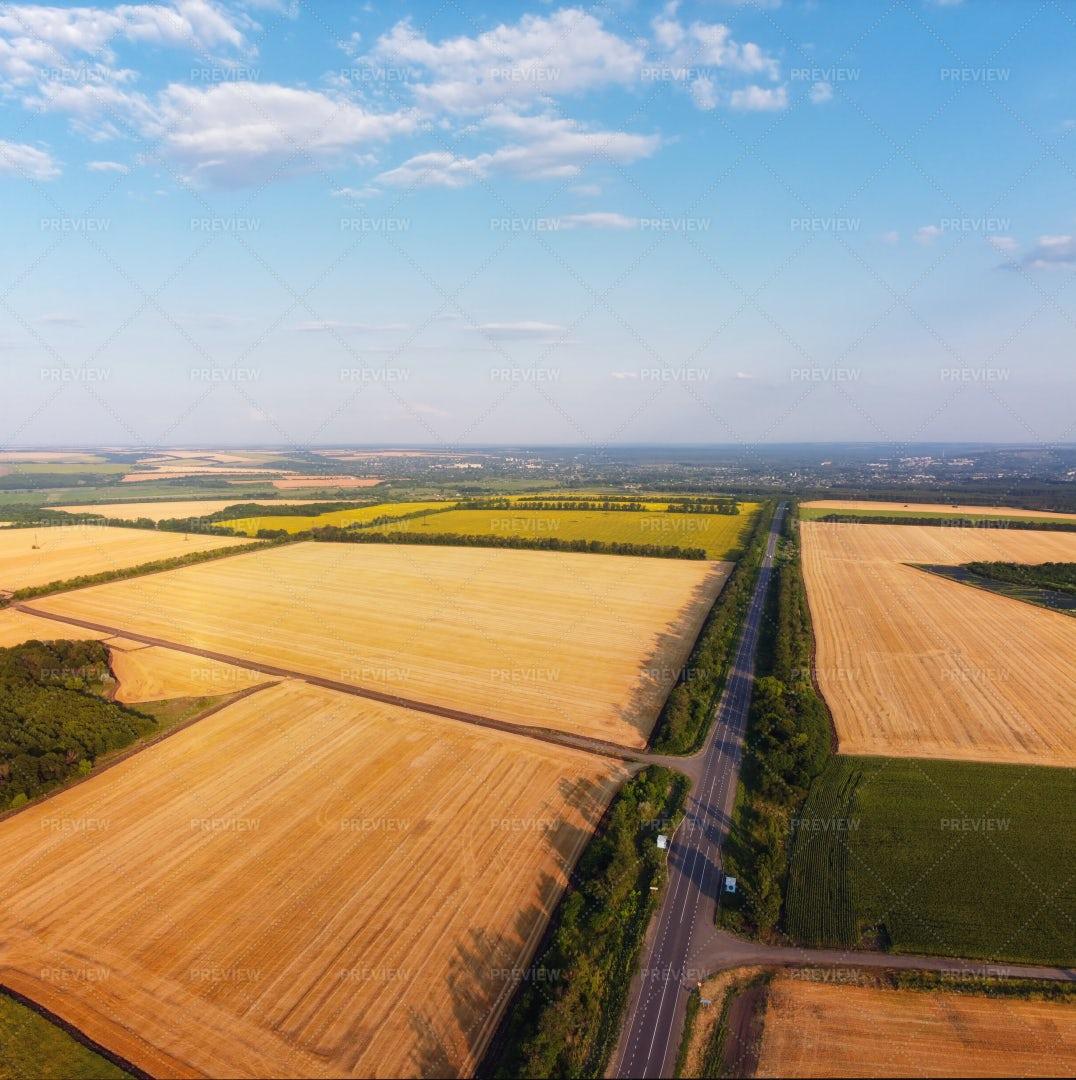Rural Scenic Road: Stock Photos
