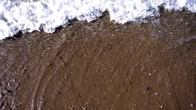 Seaside Waves And Sand: Stock Video