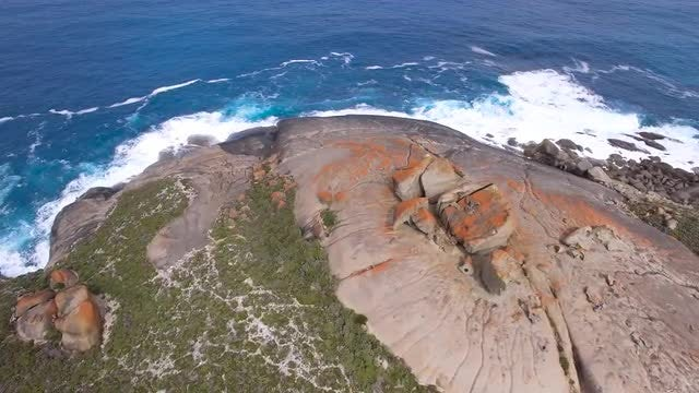 Aerial View Of Kangaroo Island: Stock Video