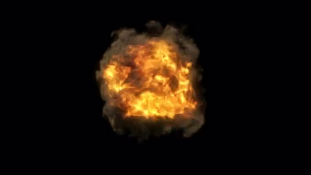 Fire Spin Vortex: Stock Motion Graphics