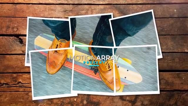 Gallery On The Board: After Effects Templates
