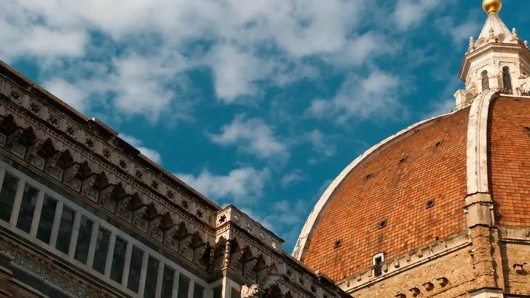 Shot Of Duomo Di Firenze, Italy: Stock Video