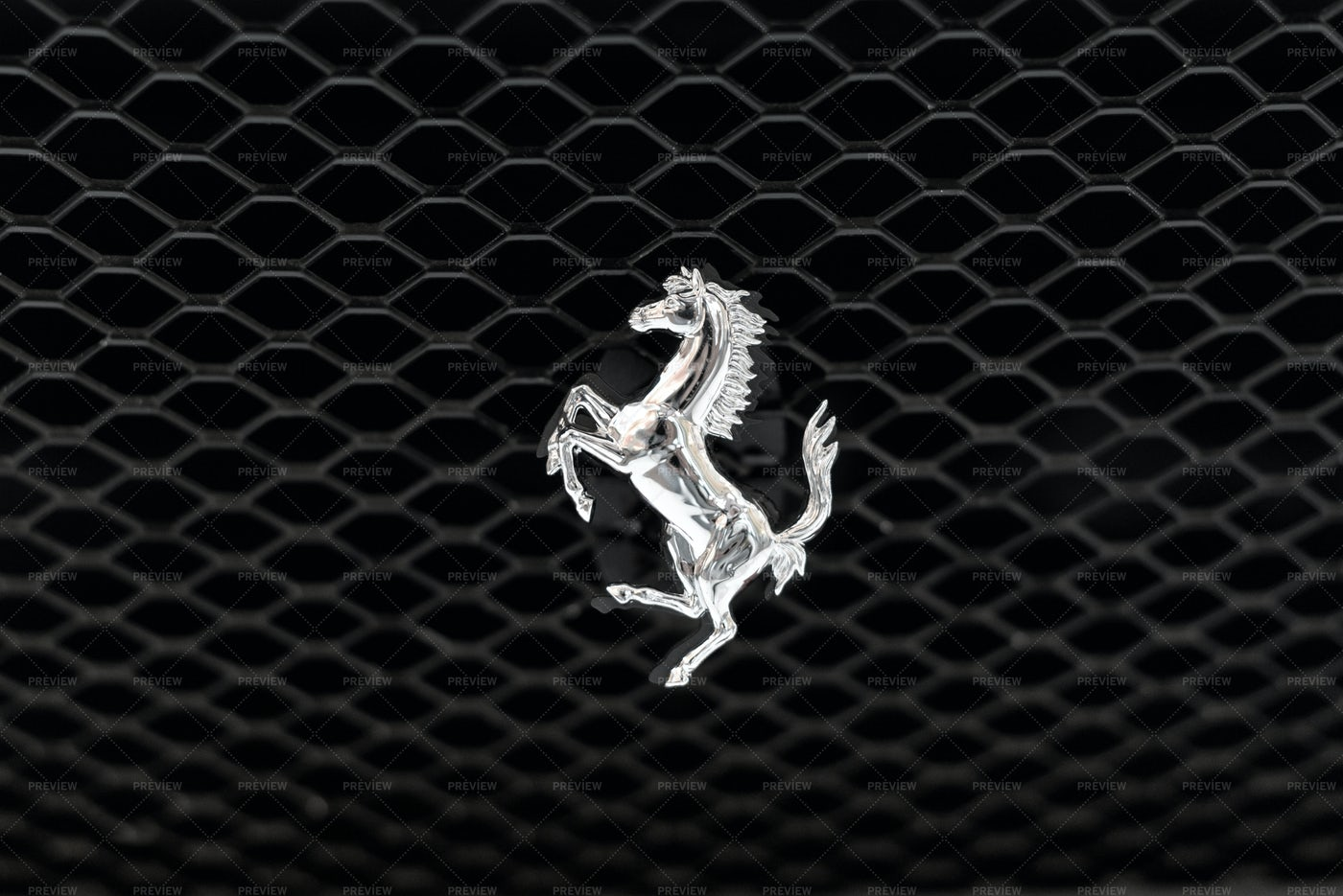 Ferrari Logo: Stock Photos