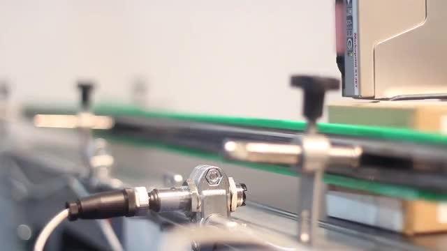 Conveyor In Medicine Factory : Stock Video