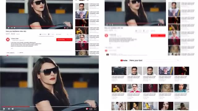 Youtube Toolkit: After Effects Templates
