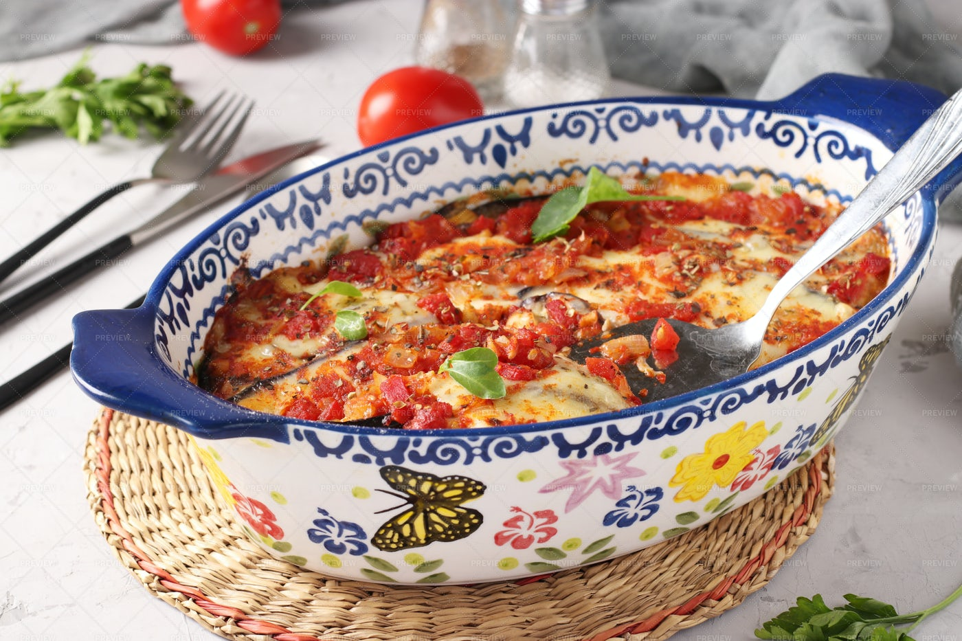 Appetizer Parmigiana: Stock Photos