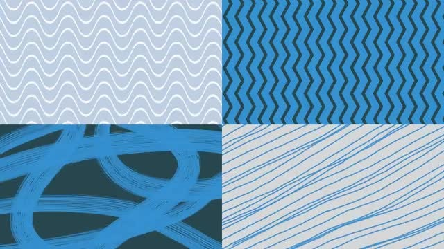 Blue-White Background Animated Lines : Stock Motion Graphics