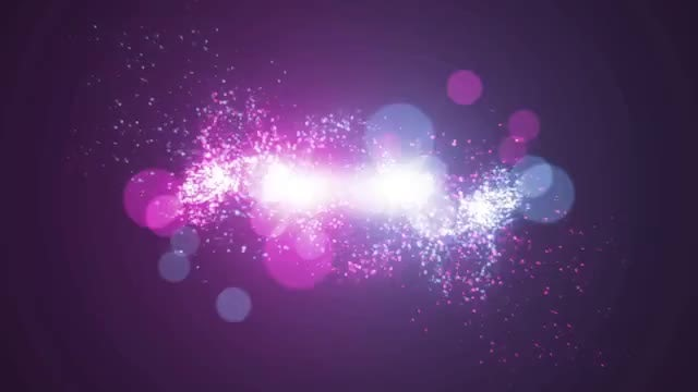 Light Particle Logo: After Effects Templates