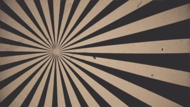 Retro Cinema Background: Stock Motion Graphics