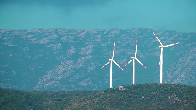 Wind Mill Energy : Stock Video