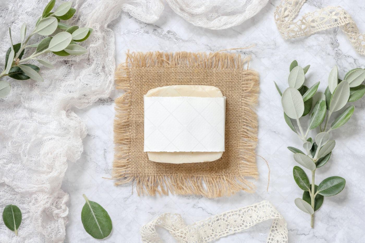 Soap Bar Packaging Mockup: Stock Photos