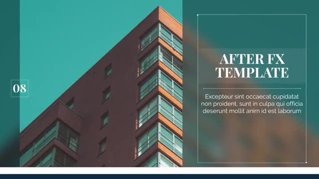 Corporate - Modern Presentation: After Effects Templates