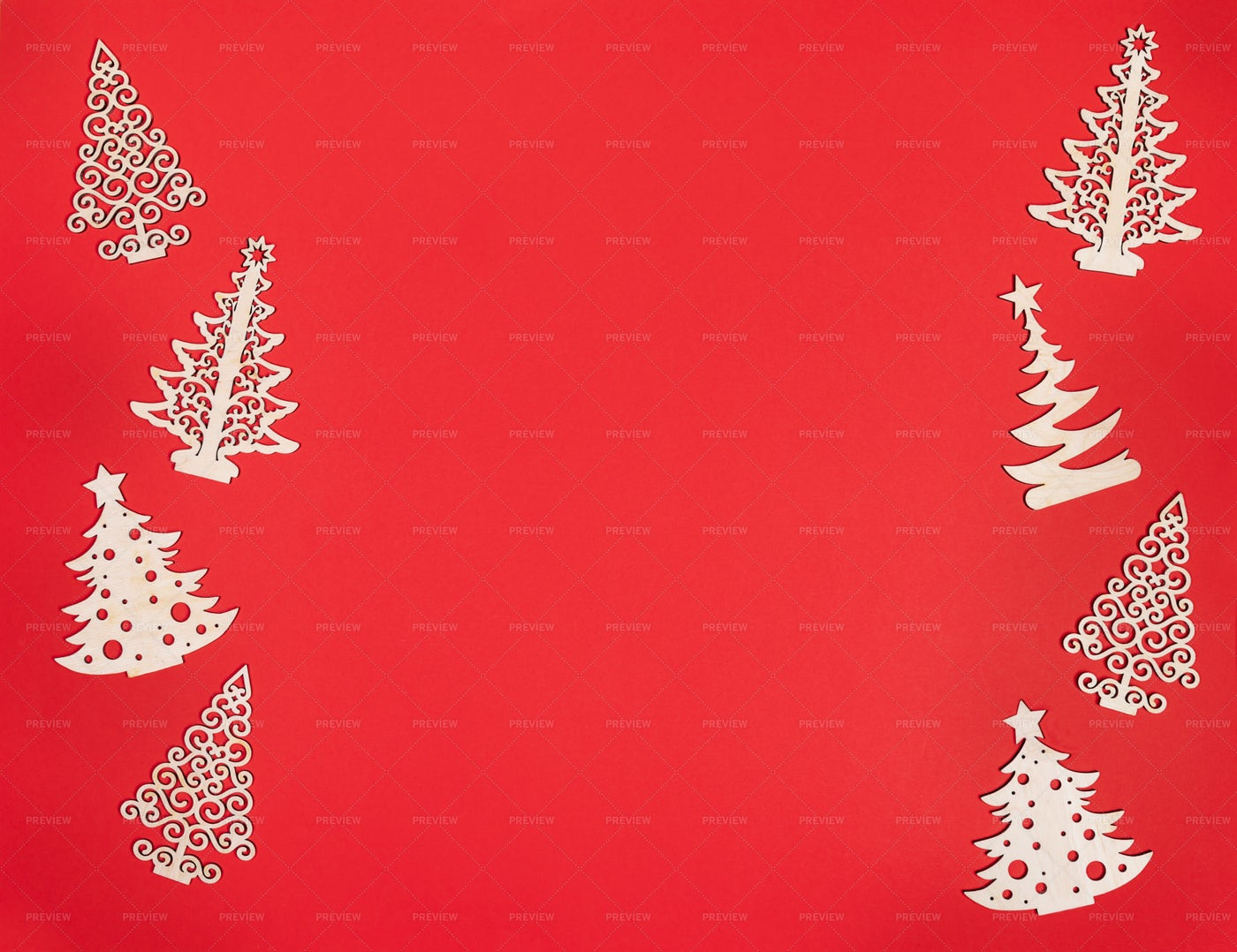Wooden Christmas Decorations: Stock Photos