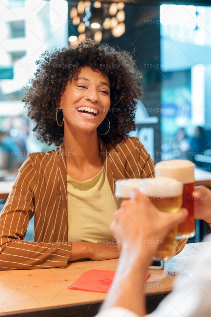 Woman Celebrating: Stock Photos