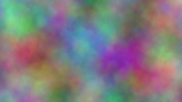 Loopable Rainbow Color Clouds Background: Stock Motion Graphics