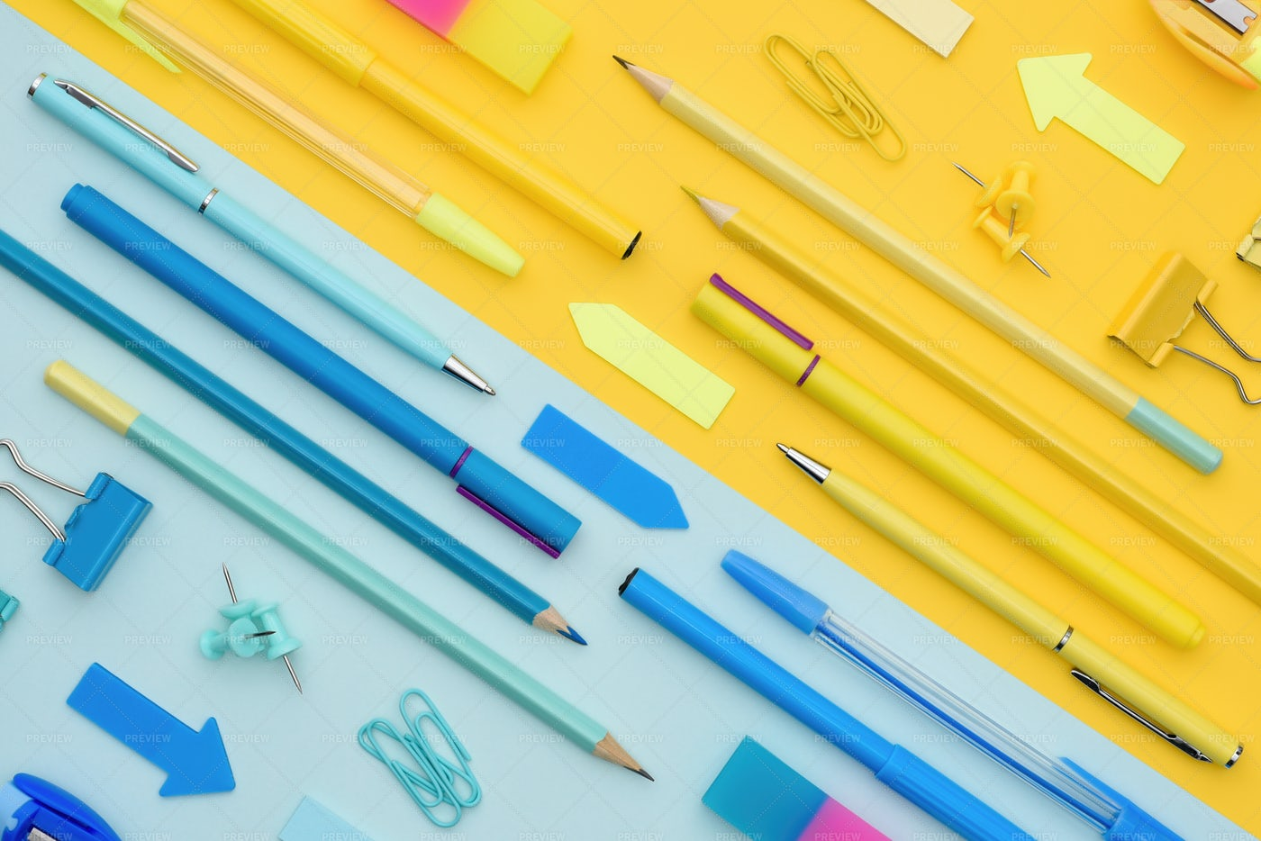 School And Office Items: Stock Photos