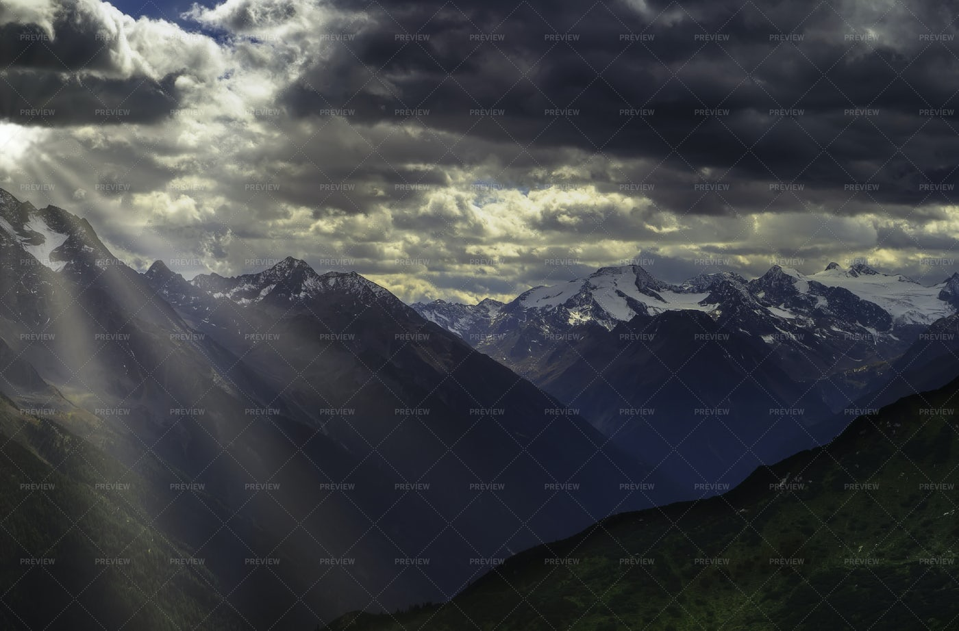 View Of Mountain Landscape: Stock Photos