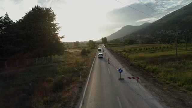 Construction Work On Road: Stock Video