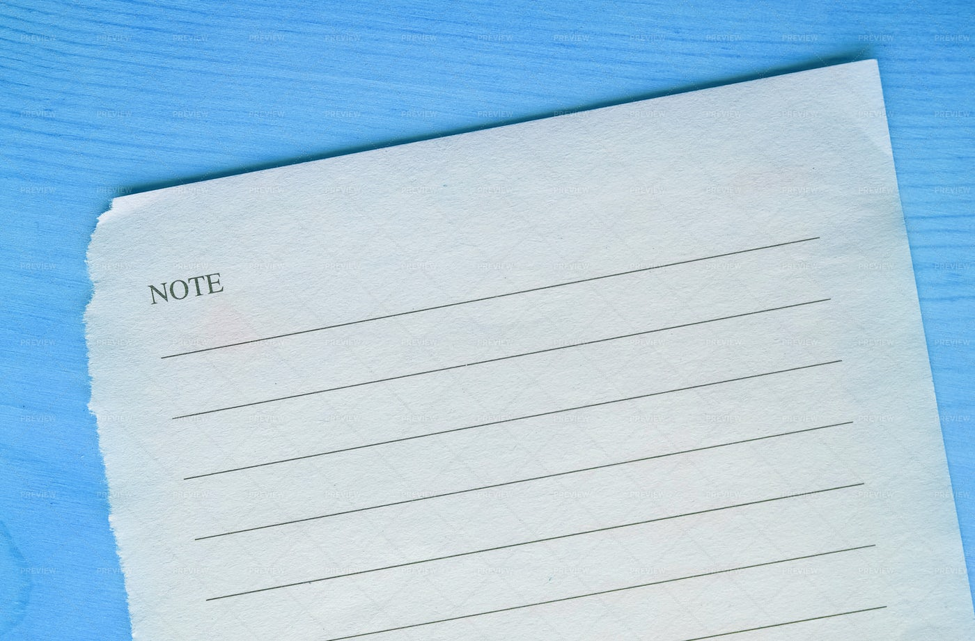 Notebook Page With Copy Space: Stock Photos