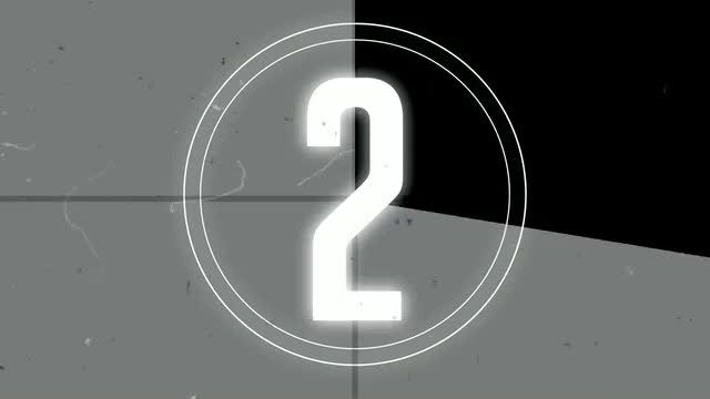 Old Tape Countdown Logo: After Effects Templates