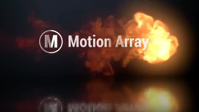 Fire Logo Reveal : Premiere Pro Templates