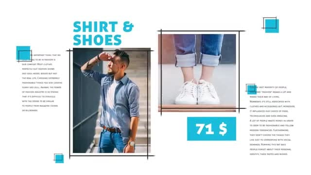 Fashion Product: After Effects Templates