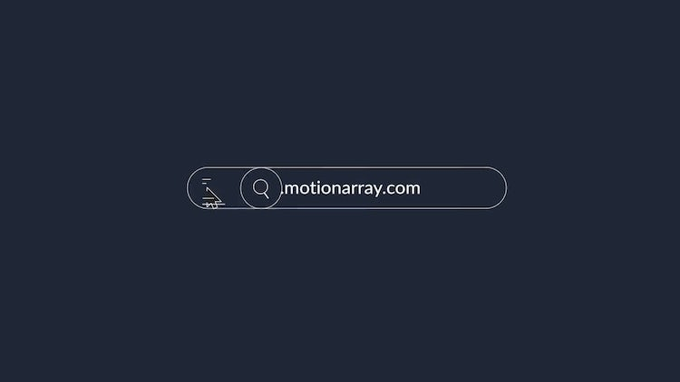 Web Search Logo Modern: After Effects Templates