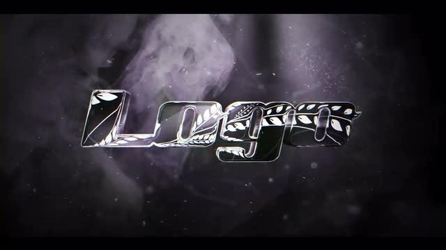 Black and White Elegant Logo: After Effects Templates