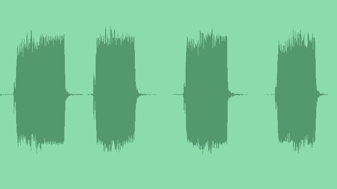 Car Horn Single Longer Blasts Interior: Sound Effects