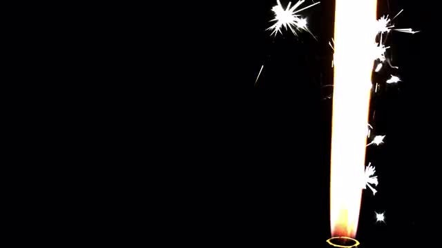 Sparkler Fountain: Stock Video