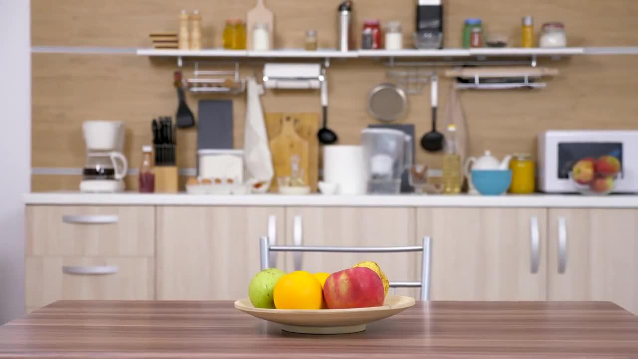 Cutie Kitchen Setting Stock Video