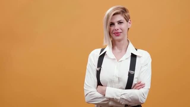 Happy Woman: Stock Video