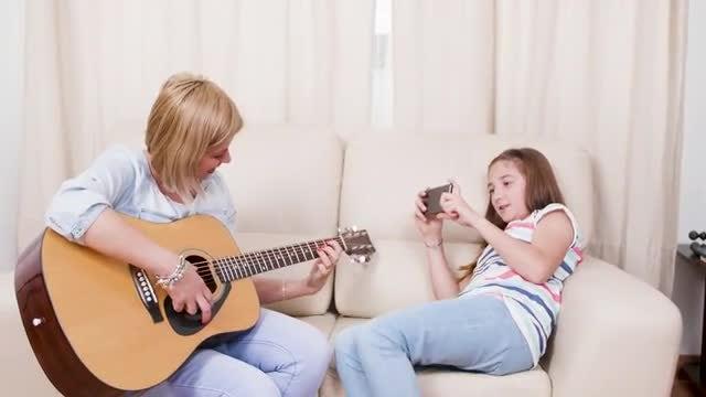 Bonding And Having Fun: Stock Video