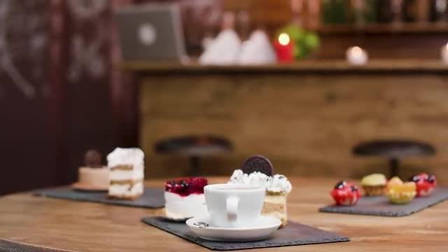 Delicious Cakes: Stock Video