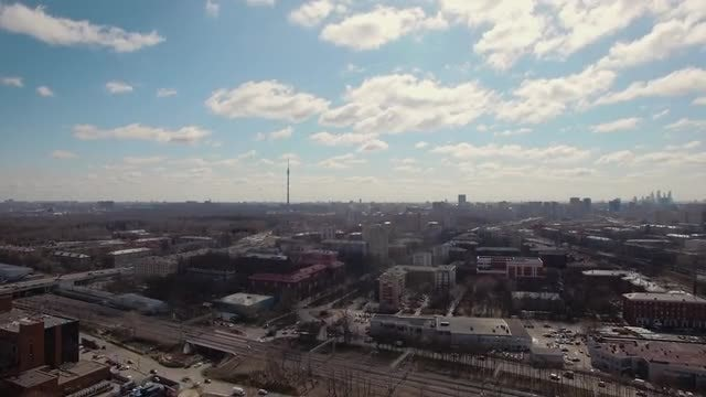 Moscow, Russia In Spring: Stock Video