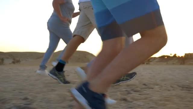 Running People: Stock Video