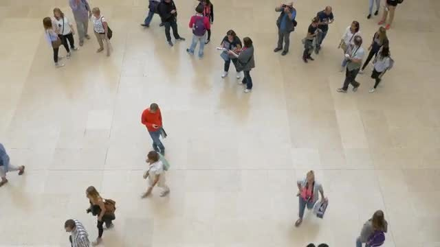 People Walking: Stock Video
