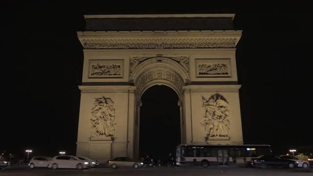 Arc De Triomphe, Paris: Stock Video