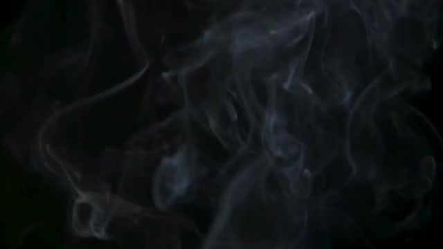 White Smoke Rising In Air: Stock Video