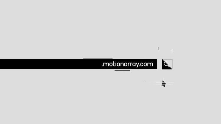 Web Search Glitch: After Effects Templates